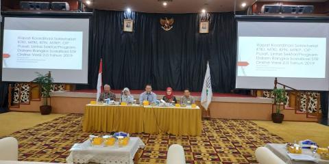 Rapat Koordinasi MTKI, KFN, MTKP, OP Pusat, Lintas Sektor/Program dan Sekretariat KTKI