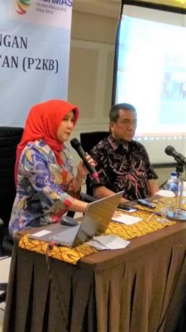 Seminar P2KB Tenaga Kesehatan Organisasi Profesi IPK dan PERSAGI