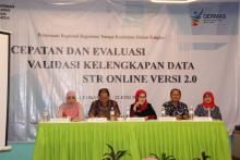 Pertemuan Regional Registrasi Tenaga Kesehatan di Palembang