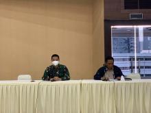 Penyerahan 100 Relawan Perawat RSDC Wisma Atlet Kemayoran ke RSPAD Gatot Subroto